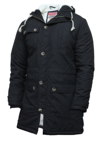 Brandslock Mens Genuine Parka Casual Duffle Coat