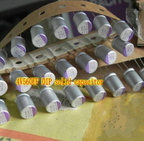 4V560UF Aluminum electrolytic Capacitors DIP solid capacitor For Digital circuit
