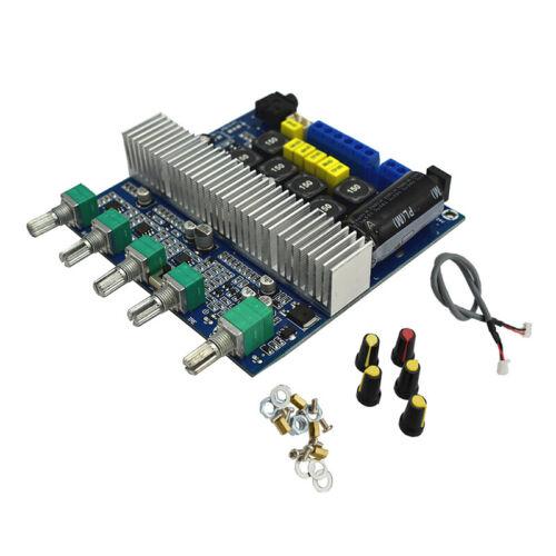 MW Bluetooth 5.0 TPA3116D2 Digital 2.1 Audio Amplifier Board 100W+50W+50W DC 12