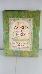 1986-The-Words-Of-Christ-Book-An-Illuminated-Volume