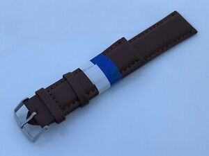 Men-Watch-Replacement-Band-Genuine-Leather-Band-Size-22