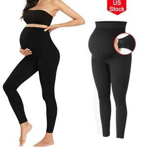 Surewin Womens Seamless Over Bump Maternity Underwear