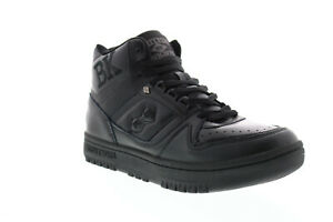 British Knights Kings SL BMKINSLHL-001 Mens Black High Top Sneakers Shoes