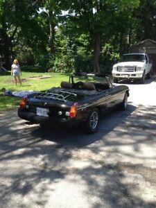 1980 MGB Sports Car
