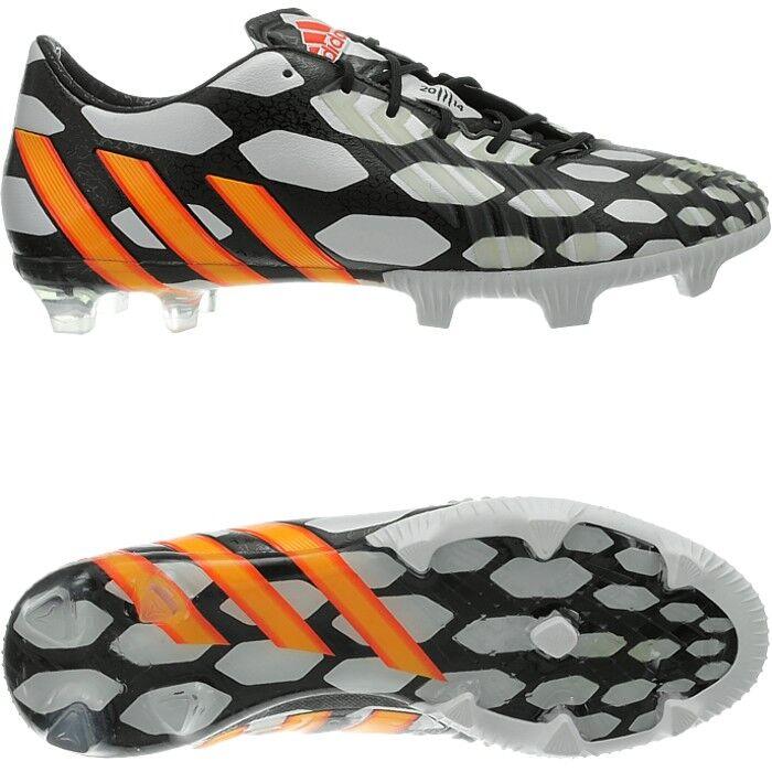 Adidas Projoator LZ TRX FG para Hombre botas De Fútbol Negro blancoo Diseño de campeonato