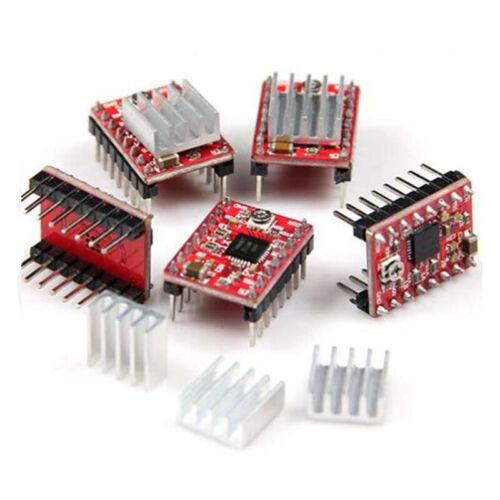 5 Stück A4988 Schrittmotortreiber Modul 3D Drucker Polulu StepStick RAMPS XY