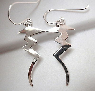 Squiggle Shaped Necklace 925 Sterling Silver Corona Sun Jewelry