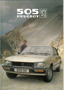 peugeot 505 gr manual book daily instruction manual guides u2022 rh testingwordpress co Peugeot 505 USA Peugeot 607