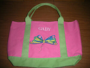 Pottery Barn Kids Pink Eric Carle Butterfly Tote Quot Gaby