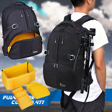 Large Waterproof DSLR Camera Backpack Rucksack Travel Bag 17'' Laptop Daypack