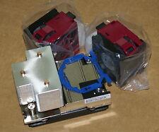 New HP High Performance DL380 G9 CPU Kit Heatsink 747607-001 & 2 Fans 747597-001