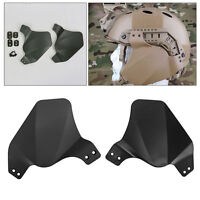 Airsoft Paintball Tactical Ear Protection Cover Fast Helmet Up-armor Side Rail