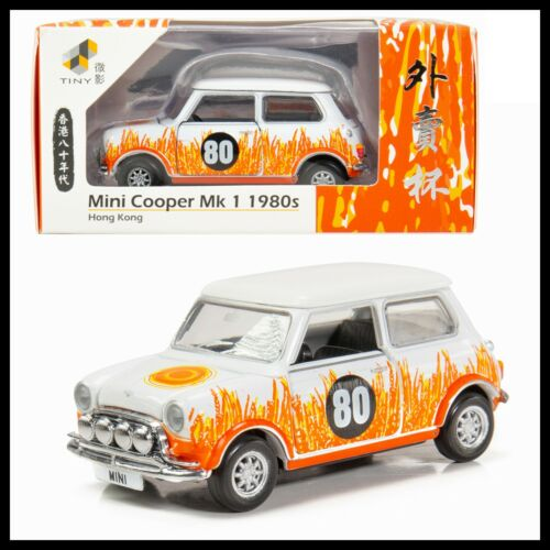 TINY 7-11 LIMITED MINI COOPER MK1 1980/'S 外賣杯 80 HONG KONG CITY NEW 1//50