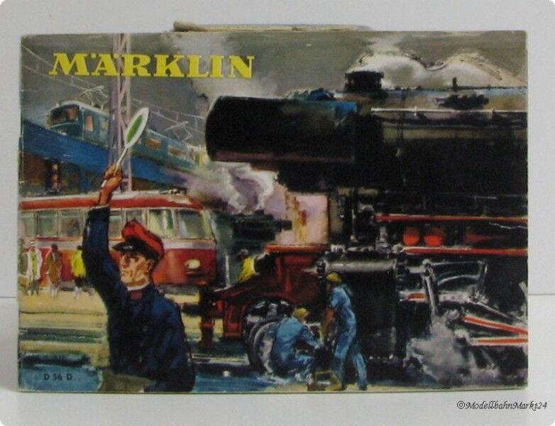 Märklin original catálogo d 56 1956 pista h0