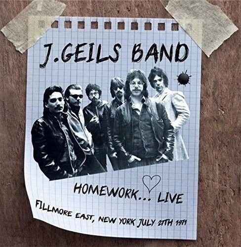 J.GEILS BAND - HOMEWORK...LIVE FILLMORE EAST 1971   CD NEW!