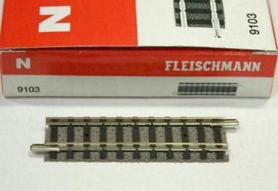 Fleischmann N 9103 Gerades Gleis 55,5 mm NEU