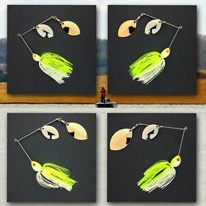 Bassdozer-spinnerbaits-DOUBLE-OKLAHOMA-CHARTREUSE-WHITE-spinnerbait-spinner-bait