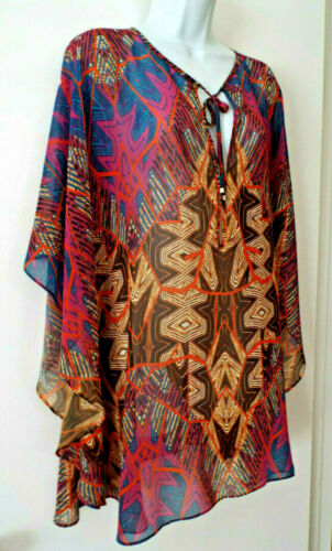 ***VIX PAULA HERMANNY Sz S swim COVERUP multicolor
