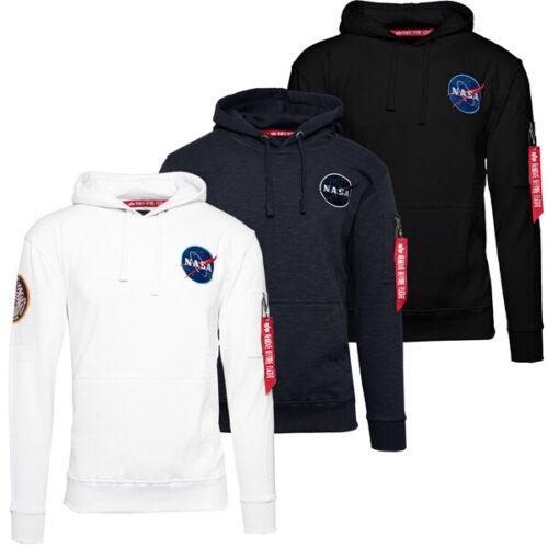 Alpha Industries Apollo 11 Hoody Men Sweatshirt Kapuzen Pullover Hoodie 188310