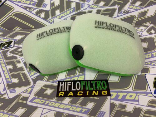 2 x NEW Hiflo Racing Dual Stage Foam Air Filter for Husqvarna FE250 2017-2020