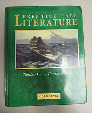 Prentice Hall Literature Text  Gold Level 2002 Grade 9