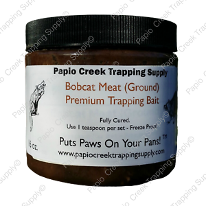 Papio-Creek-Bobcat-Meat-Ground-Trapping-Bait-16-oz-Coyotes-Fox-Cat-Coon