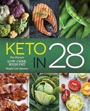 The 28-Day Keto Diet Plan by Sonoma Press Staff (2015, Paperback)