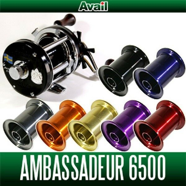Avail  ABU Microcast Spool AMB6550UC for Ambassadeur 6500C, 6500CS orange  high-quality merchandise and convenient, honest service