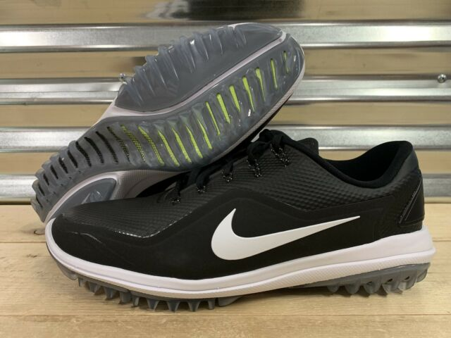 83037c4fca05 Nike Lunar Control Vapor 2 Size 9 Black White Volt 899633-002 Mens Golf  Shoes