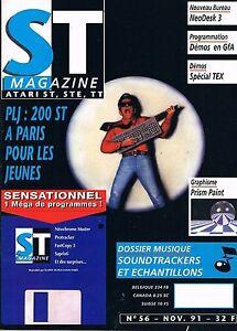 GéNéReuse St Magazine N°56 Nov 1991 : Sountrackers Et échantillons êTre Nouveau Dans La Conception
