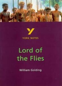 York-Notes-on-William-Golding-039-s-034-Lord-of-the-Flies-034-By-Alastair-Niven