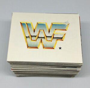 1992-MERLIN-WWF-Complete-Set-300-Stickers-Hulk-Hogan-Hit-Man