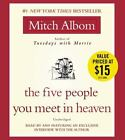 The Five People You Meet in Heaven by Mitch Albom (2003, CD, Unabridged)