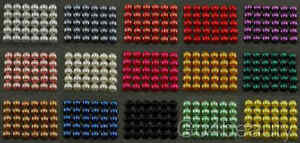 Selection-of-5mm-Half-Pearl-Beads-Flat-Back-500pcs-15-Colors-to-choose-from