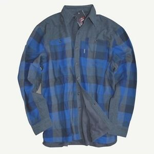 Bleu Micro À Neuf Avalanche S Carreaux Étiquettes Buffalo Avec Hommes 1BBqap