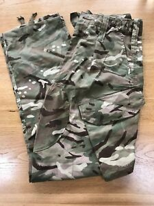 Militaria Mtp Army Trousers Warm Weather British Army Surplus Combat Lightweight Camo Clothing, Shoes & Accessories