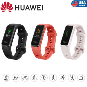 HUAWEI Band 4 0.96 inches 5 ATM Oxygen Saturation Detection Heart Rate Tracking