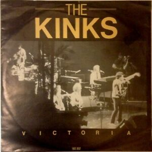 THE-KINKS-Unplayed-1980-7-034-Single-Victoria-Low-Budget-Arista-102937