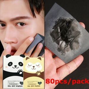 80pcs-Pack-Oil-Control-Blotting-Paper-Bamboo-Charcoal-Oil-Absorbing-Skin-Care