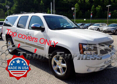 """TYGER For 10-14 Chevy Avalanche//Suburban Body Side Molding Trim 4/"""" Wide 4PC"""