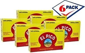 El-Pico-Cuban-Coffee-10-oz-Pack-of-6-Free-Shipping
