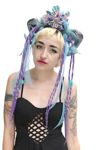 Burlesque-Feather-Dreaded-Rams-Horn-Festival-Headdress-Headband-Crown-Gobbolino