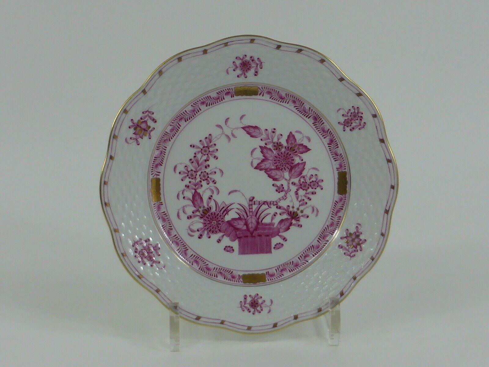 Image 1 - Herend-APPONYI-Purple-Cake-Plate-Model-517-Full-Decor