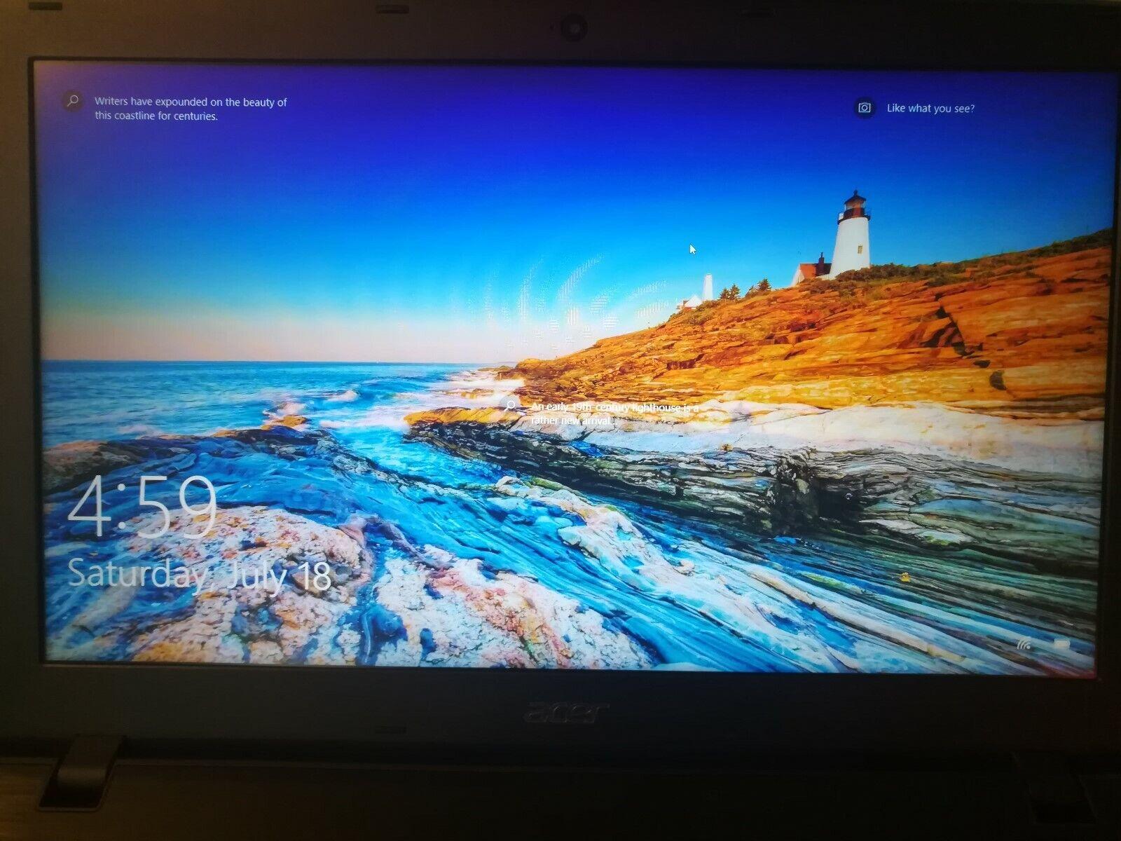 Acer Aspire E 15 E5 553 T5k4 15 6 Full Hd Laptop Indigo Blue 2 4ghz 1tb Hdd For Sale Online Ebay
