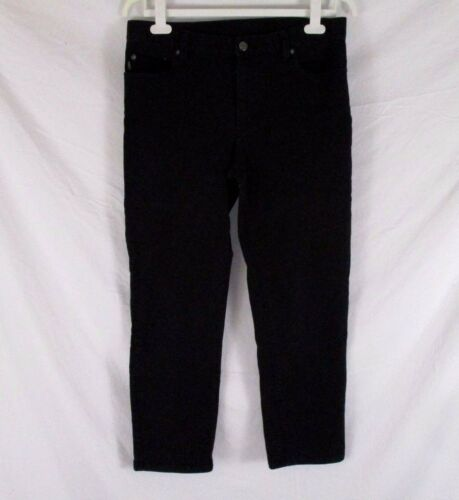 12 Noir Lauren Cb54h Co Pantalons Stretch Ralph Taille Femmes Jeans Zaq06