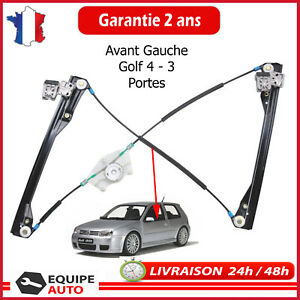 Electric-Window-Lift-Mechanism-Front-Left-Golf-4-3-Doors-1J3837461D