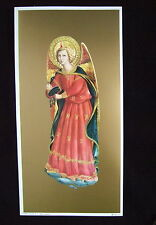 FRA ANGELICO Angel Music Instrument Art Print Picture - ready to frame