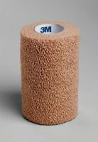 6 Pack 3m Coban Self Adherent Wrap 4 Inches X 5 Yards 1 Roll Each on sale