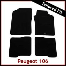 PEUGEOT 106 1996 - 1999 2000 2001 2002 2003 2004 Tailored Carpet Car Mats GREY