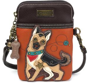 SG0HGO Multipurpose Data Line Storage Bag I Heart Love German Shepherd Dog Charging Cable for Men /& Women